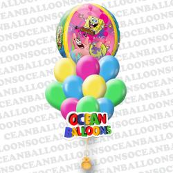Набор воздушных шаров Спанч-Боб и Патрик