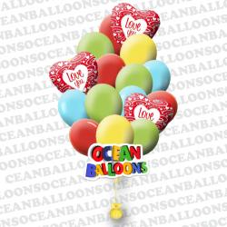 Набор воздушных шаров «Яркие Чувства»