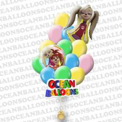 Набор из 27 воздушных шариков « Барбосины 2 »