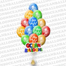 Воздушные шарики Барбоскины