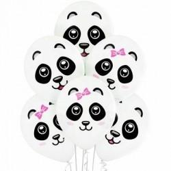 Воздушные шарики Панды