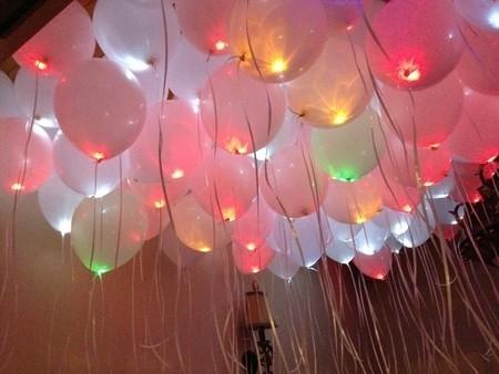 Золотые небеса светящиеся шары под потолок