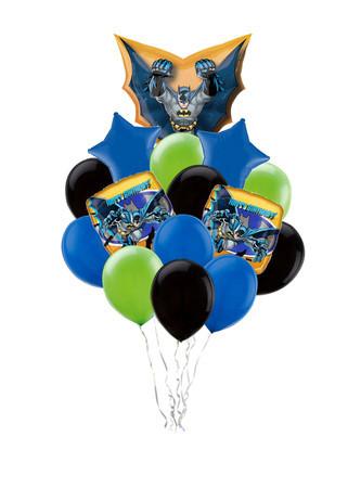 Букет шаров «Поздравление от Бэтмана»