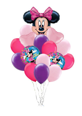 Букет шаров «Поздравление от Минни»