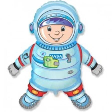 Шар из фольги космонавт