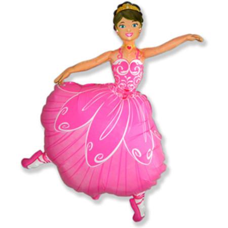 Фольгированный шар Танцовщица