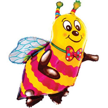 Шарик из фольги Пчелка
