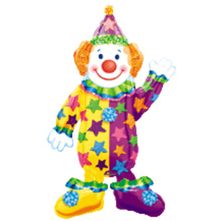 Ходячий воздушный шар «Клоун»
