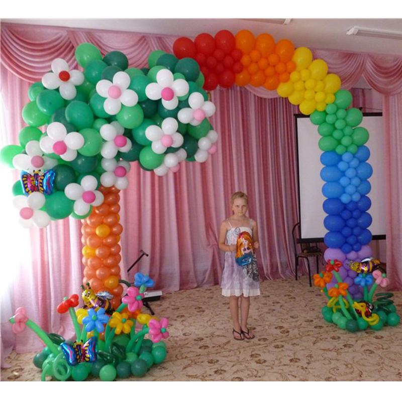 Арка из шариков на детский утренник