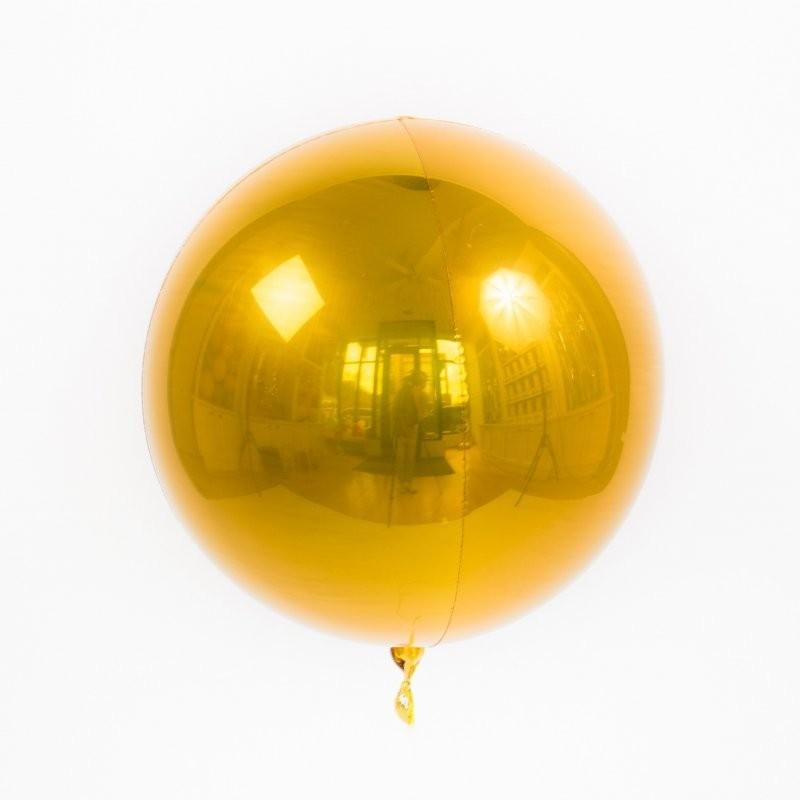 Шар Сфера 3D, Золото