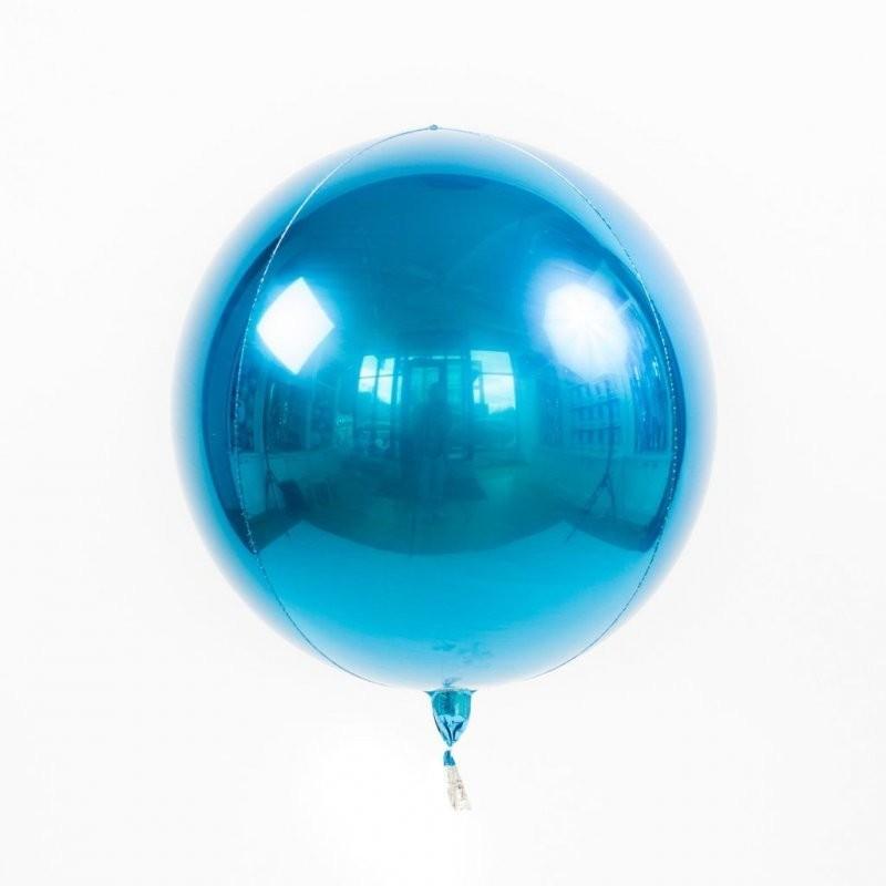 Шар Сфера 3D, Синий.