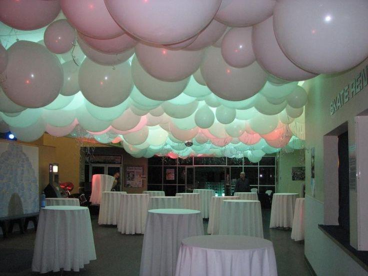 Огромные шары под потолок
