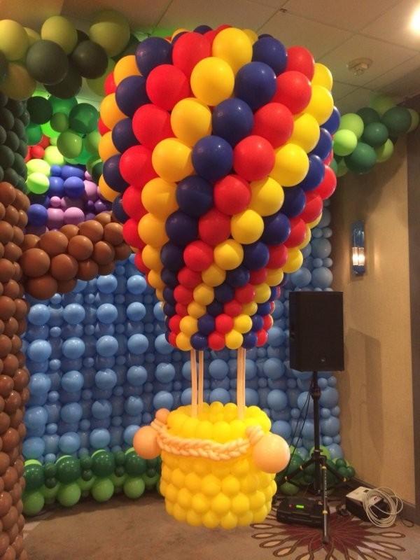 Фигура воздушный шар на День рождения