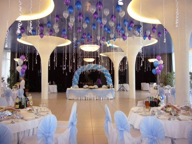 Свадебное оформление ресторана