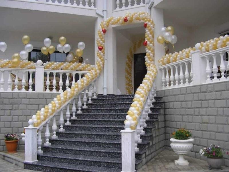Уличное оформление свадьбы