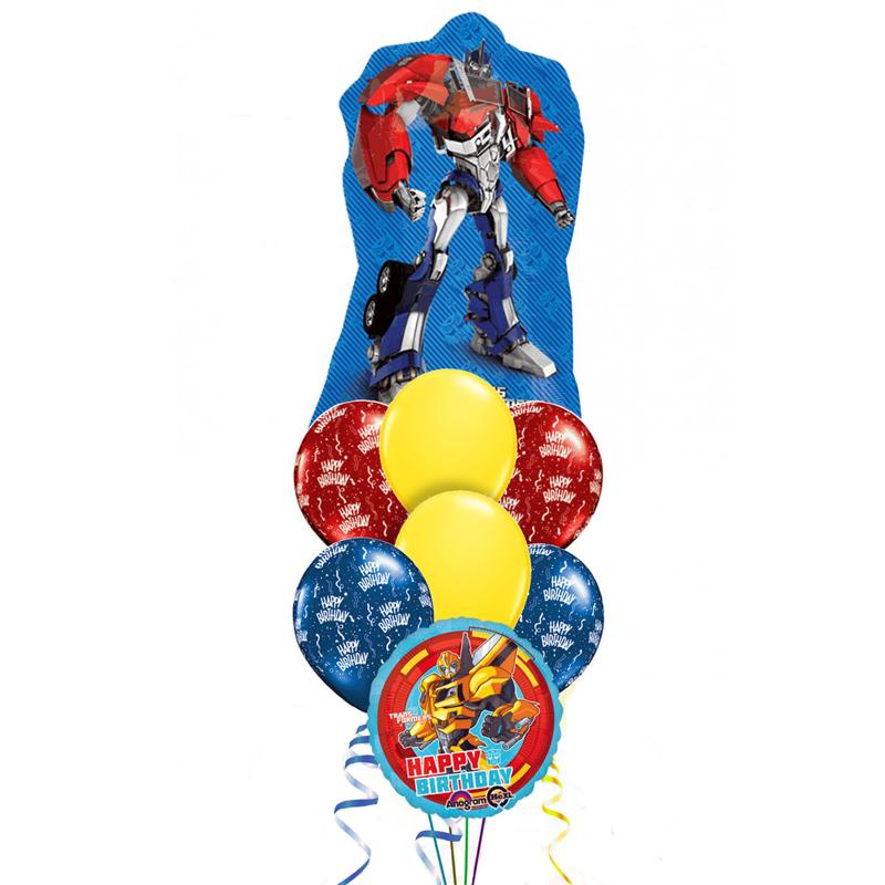 Букет «Transformers» из 17 воздушных шаров на день рождения