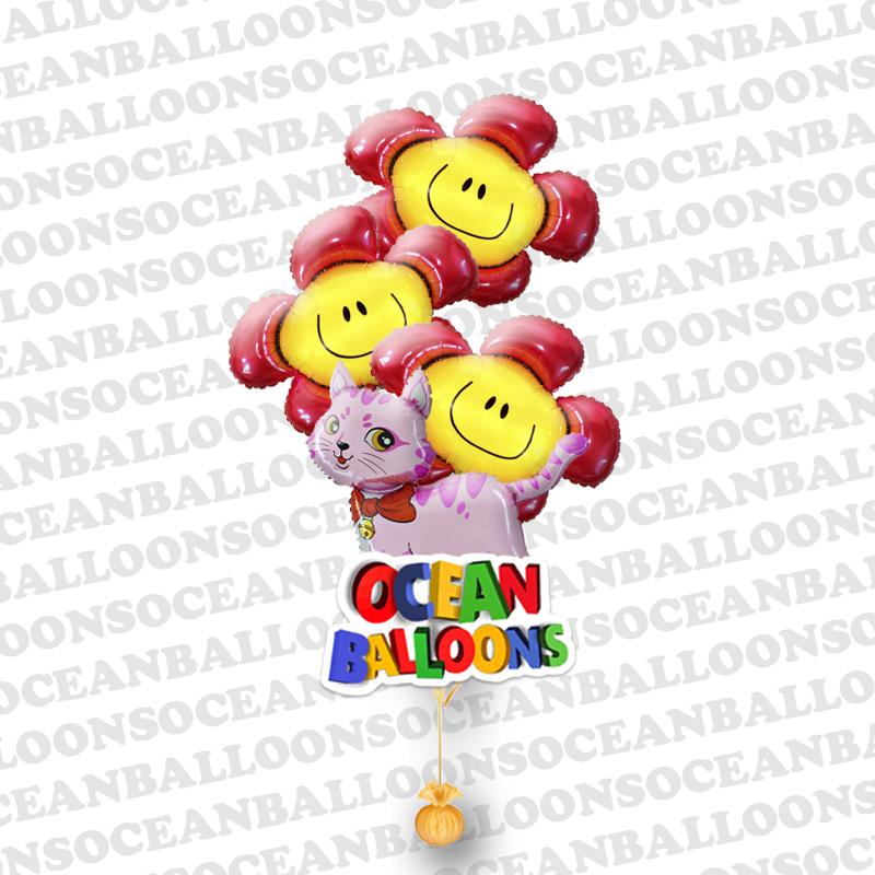 Подборка воздушных шариков «Любимой кошечке»