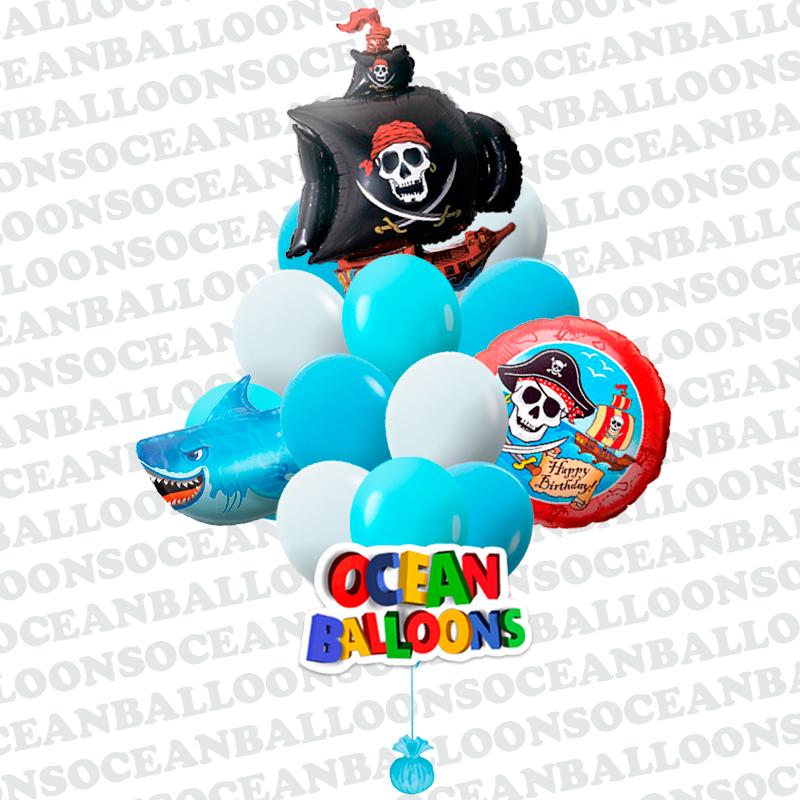 Букет шаров «Пиратская вечеринка»