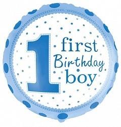 Шар Круг, 1-й День рождения мальчика