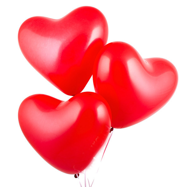 «Великолепие сердец» шарики сердечки