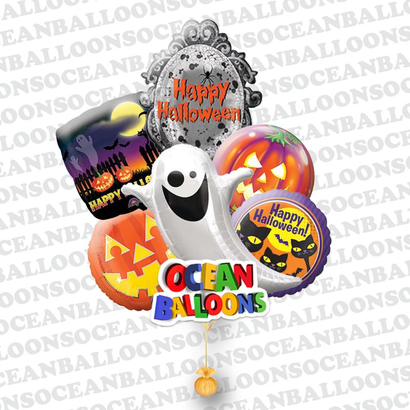 «Веселый хэллоуин» шарики на хэллоуин