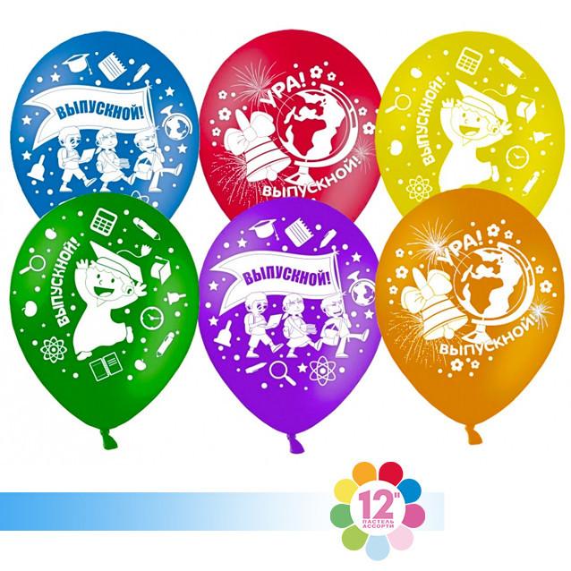 Воздушные шарики на Выпускной с картинками
