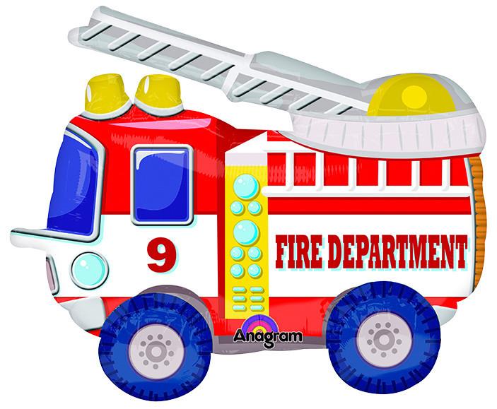 Ходячая Фигура Пожарная машина,