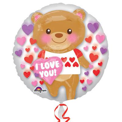 Медвежонок I LoveYou! внутри шара