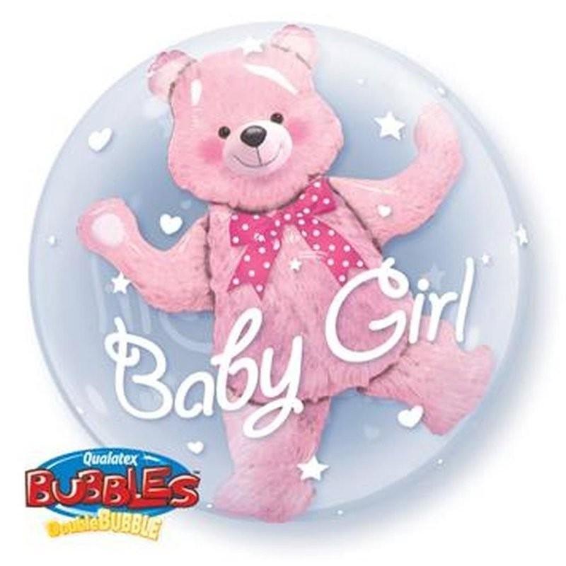 Медвежонок Девочка внутри шара