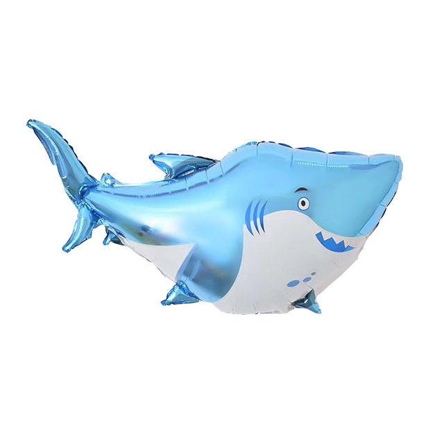 Фольгированная фигура, Акула Голубой
