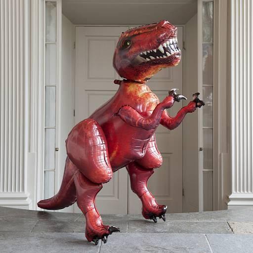 Ходячий шарик Динозавр
