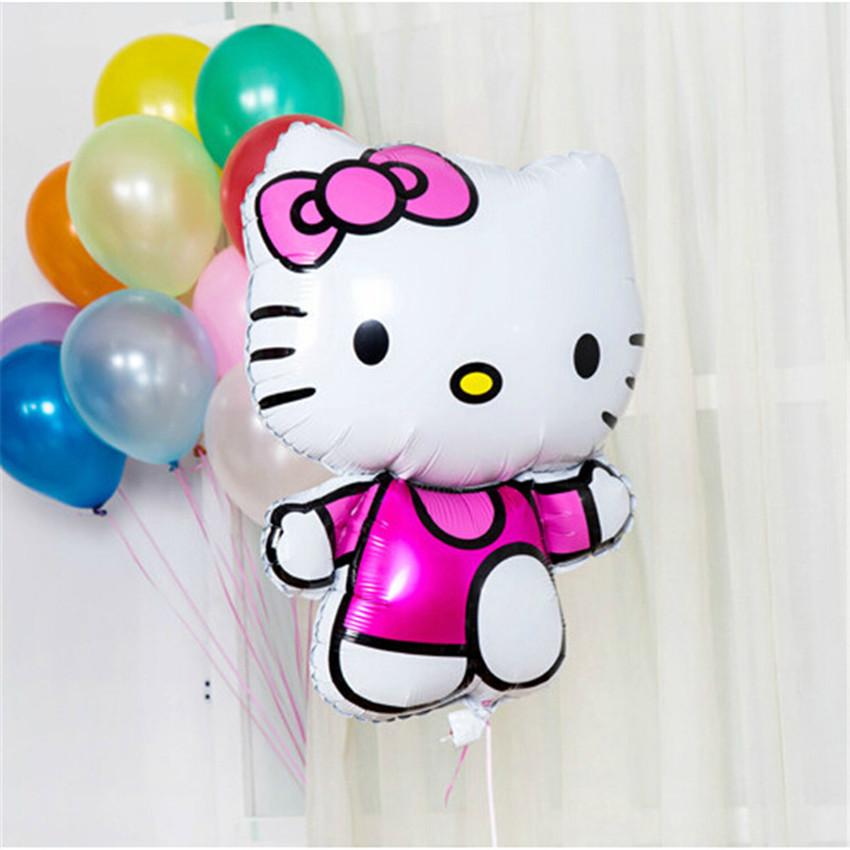 Фольгированный шар Hello Kitty