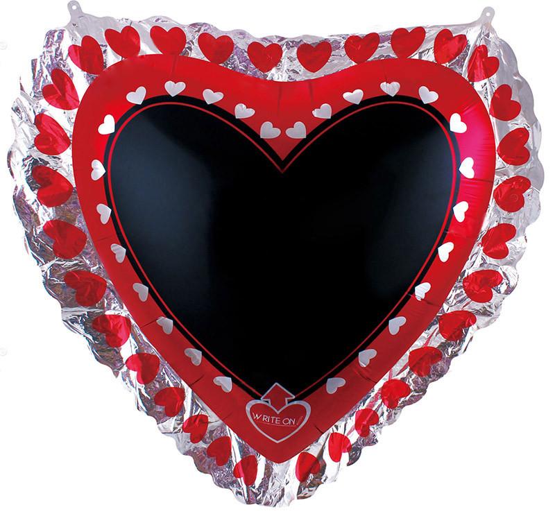 Фигура, Для надписей (сердце) с маркером.