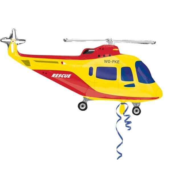Фольгированный шар с гелием - Вертолет