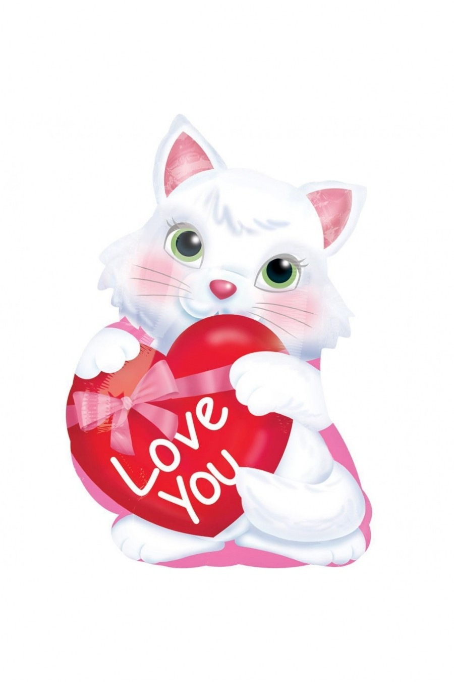 ILY Котенок с сердцем