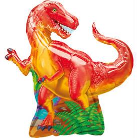 Динозавр красный