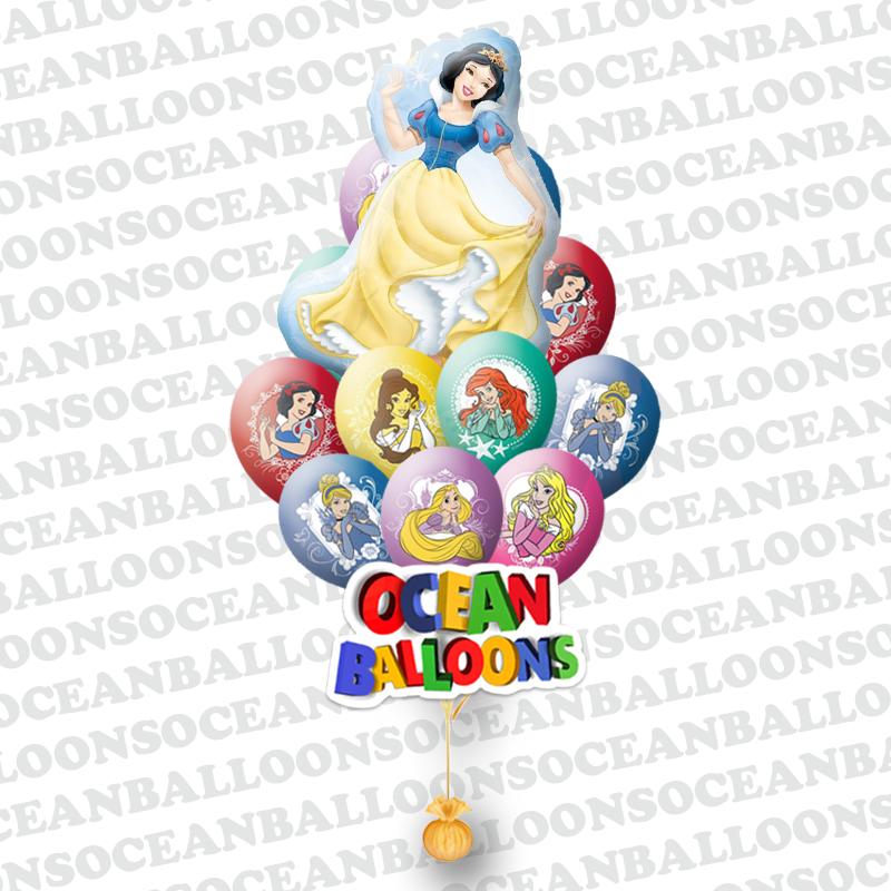 Букет «Танцующие Принцессы» из 25 шаров