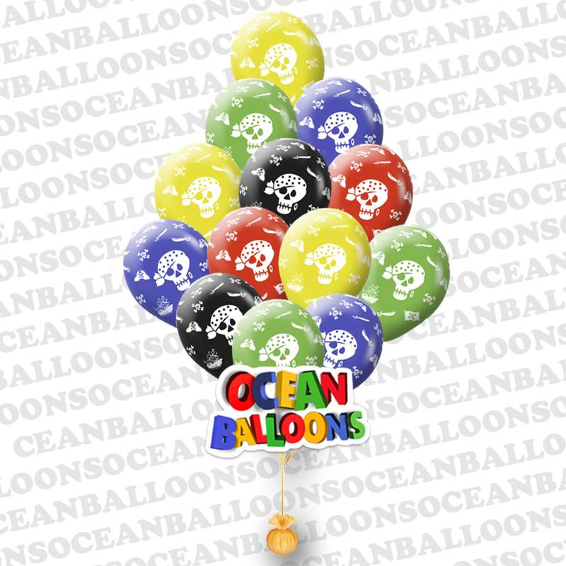 Надувные шарики для детей «Пиратская Тематика»