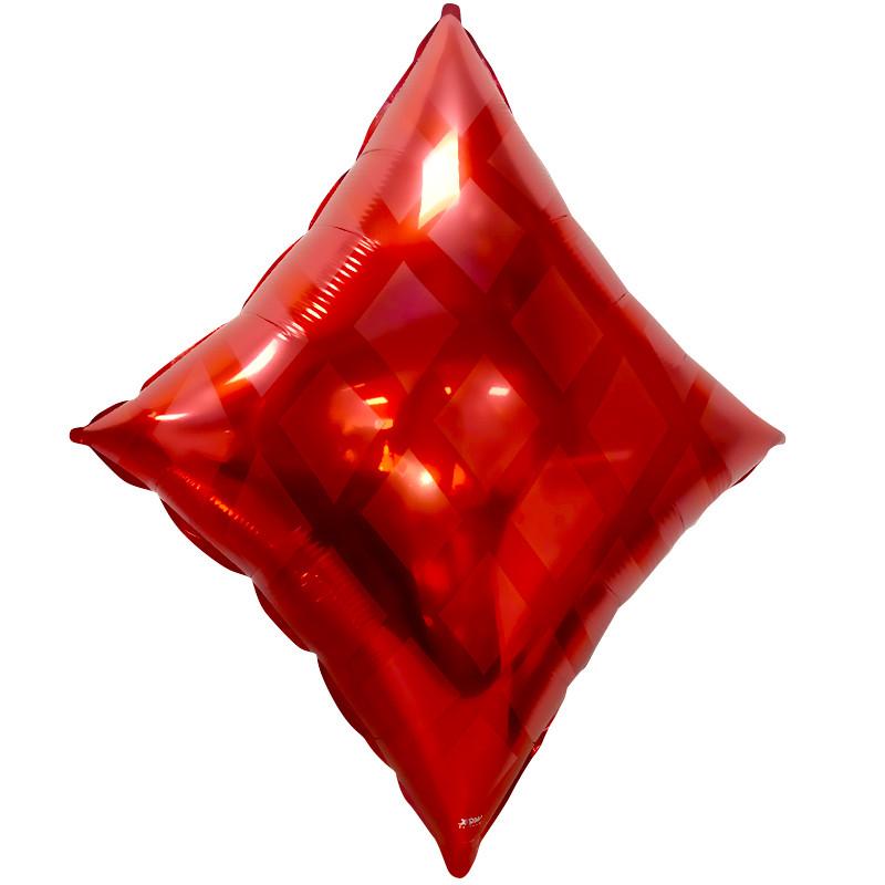 Шар Фигура, Карточная масть: бубны, Красный