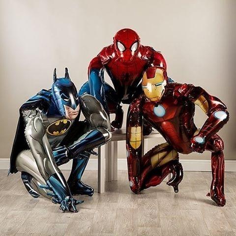 Супер Команда c 3 героями