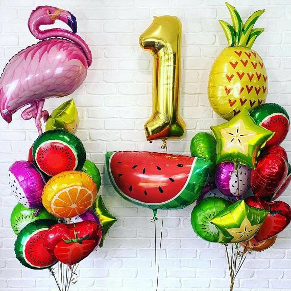 Компазиции Экзотические фрукты на День рождения