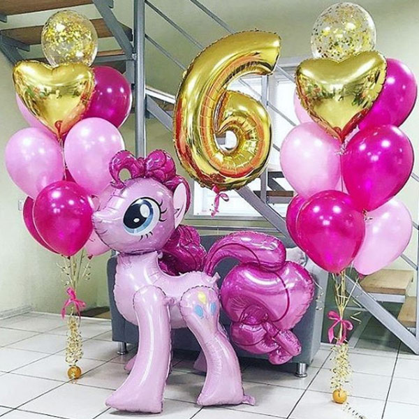 День Рождения от Пинки Пай