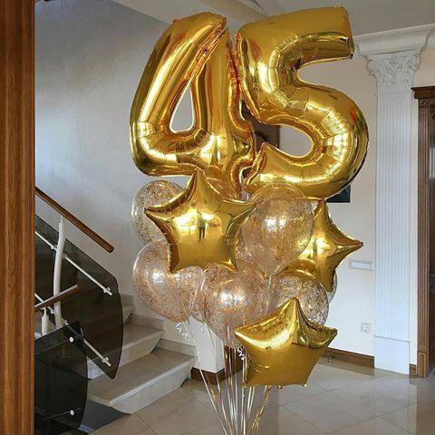 Готовая решение на День Рождения из 23 шаров