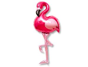 Ходячая фигура Фламинго - ходячий шар в виде фигуры Фламинго