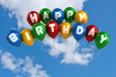 Как украсить шарами комнату на день рождения