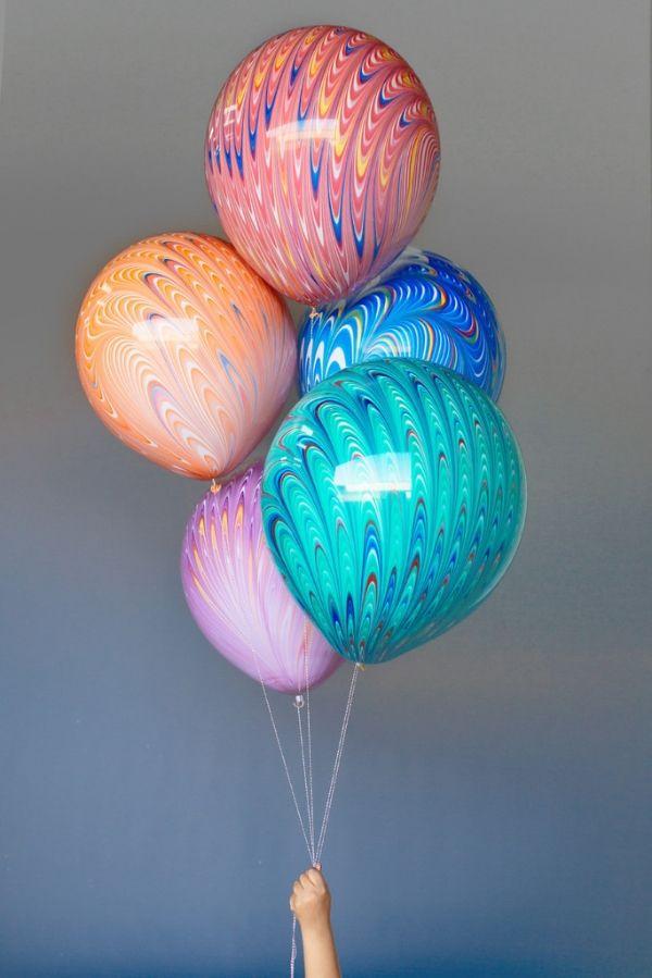 Гелиевые шары Павлин ассорти