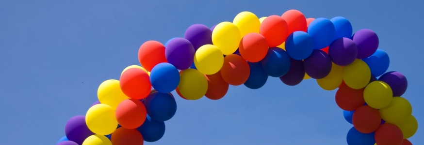 Как сделать гирлянду из шаров