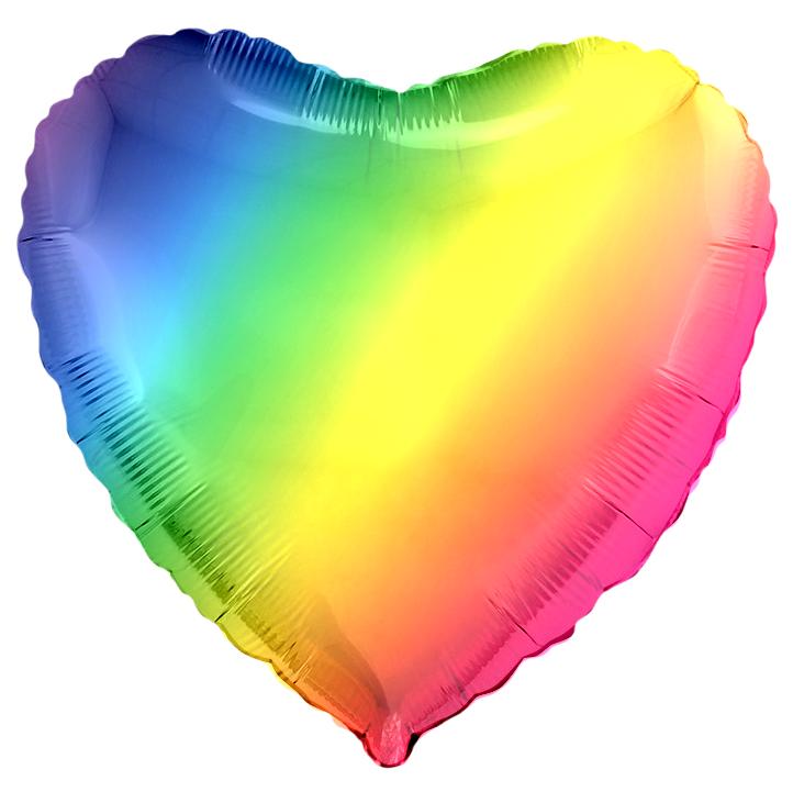 Шар Сердце, Радужный.
