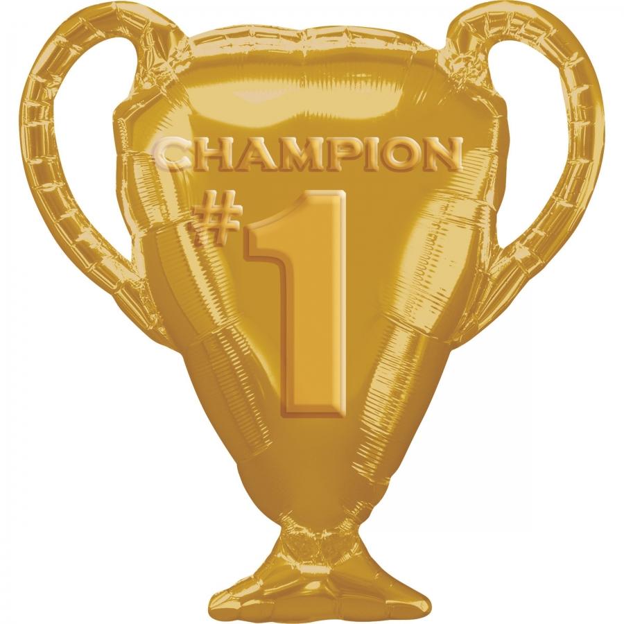 Кубок чемпиона золотой