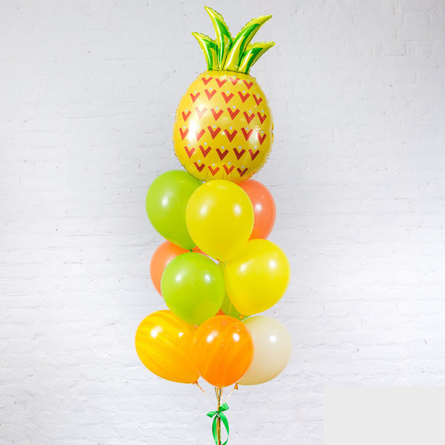 Композиция Яркий ананас